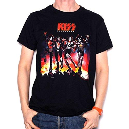 Kiss T Shirt - Destroyer 100% Official