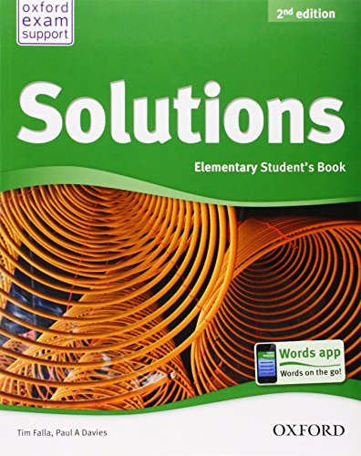 Solutions. Elementary. Student's Book (Miscellaneous) - 9780194552783 (Solutions Second Edition)