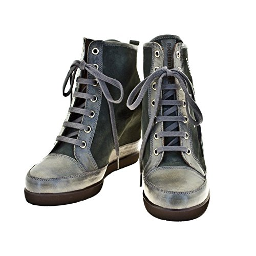 ROBERTO BOTELLA - <p>     Sneakers avec talon compensé    </p>     Grey