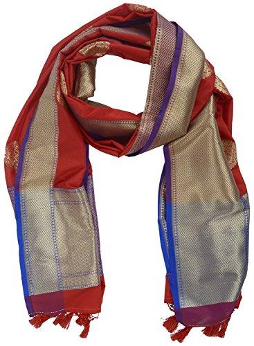 Charkha nc63 Womens Silk Block Print Dupatta - Best Price in
