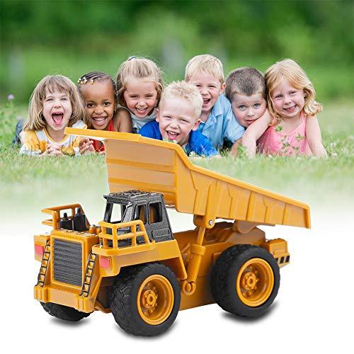 RC Auto kaufen Baufahrzeug Bild 6: Fernbedienung Bagger LKW Bagger Spielzeug RC Kran Mini Baufahrzeug Kinder Geschenk(Kipper)*