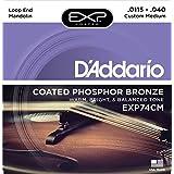 Cuerdas EXP74CM Bronce De Fósforo Medio Cubierto Cuerdas De Mandolina