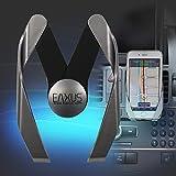 Eaxus KFZ Handyhalterung Autohalterung Handy & Smartphone. Passend für Lüftungsschlitz Lüftung Belüftung. Universal, größenverstellbar. Für alle Smartphones wie z. B. iPhone, Samsung Galaxy UVM.