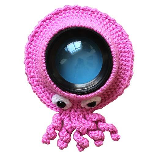 Guía adorable a mano punto lente de la cámara de cartón anillo decorativo Diseño Bebé apoyo de la foto muñeca de juguete