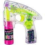 Pistola de burbujas luminoso