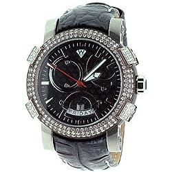 Aqua Master Titanium Automatic 3.50 ct Diamond Mens Watch W312A2