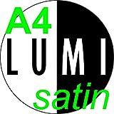 75Blatt 130gsm A4SATIN doppelseitig Laser Drucker Papier–Flyer/Prospekte