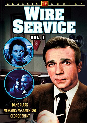 Wire Service (Lost TV Classics) by Dane Clark (Dvd Eisenhower D Dwight)