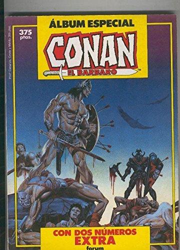 Conan el Barbaro retapado primavera 87 y Clavos Rojos