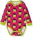 Maxomorra Unisex Baby Long Sleeve Hedgehog Animal Print Bodysuit