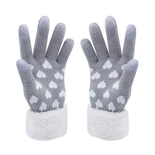 VENI MASEE Kerstmis Lover Snowprint Keep Warm Iphone Touch Screen handschoenen -