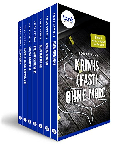 Buchseite und Rezensionen zu 'Krimis (fast) ohne Mord' von Thomas Kowa