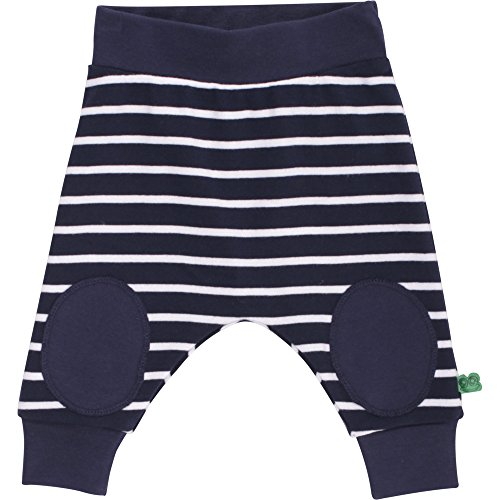 Fred's World by Green Cotton Unisex Baby Hose Stripe Funky Pants, Blau (Navy 019392001), 56