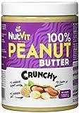 NutVit 100% Peanut Butter Crunchy, 1er Pack (1 x 1 l)