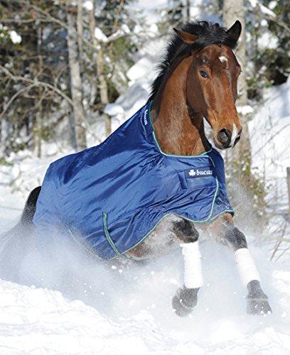 BUCAS Outdoor Pferdedecke SMARTEX RAIN, blau, 145