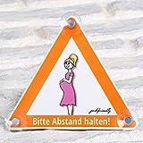 Autoschild Baby Bord Zeichen Babyschale Geschenkidee Geburt Stoßstange Kind Enkelkind Babyparty
