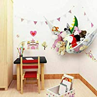 UK Large Soft Toy Hammock Storage Mesh Net Teddy Bear Baby Kids Bedroom Nursery