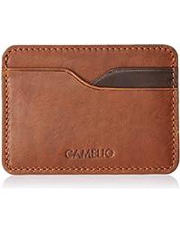CAMELIO Brown Card Case (CAM-WL-0026)