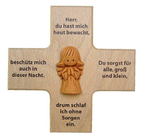 Holzkreuz mit Schutzengel, Herr ...