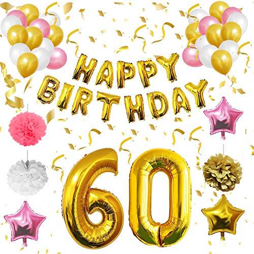 BELLE VOUS Globos Cumpleaños Happy Birthday