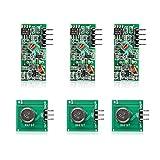 Aukru 3x 433 MHz Empfänger und Sender