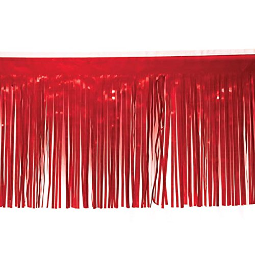 ,1cm X 10'Roll of Dekorieren Material für Parade Schwimmt und Party Supplies rot ()