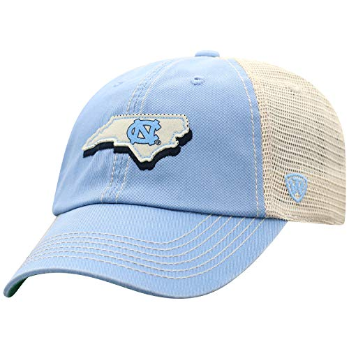 ren Mütze NCAA Off Road Mesh State Icon verstellbar, Herren, Elite Fan Shop NCAA Men's Off Road Mesh Back Hat, North Carolina Tar Heels Light Blue, Einstellbar ()