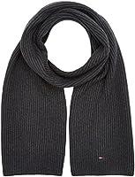 Tommy Hilfiger Herren Schal Pima Cotton Cashmere Scarf, Grau, One size (Herstellergröße: OS)