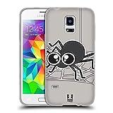 Head Case Designs Spinne Käferaugen Soft Gel Hülle für Samsung Galaxy S5 Mini