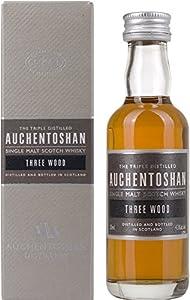 Auchentoshan Three Wood Single Malt Scotch Whisky Miniature - 5cl from Auchentoshan