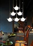 Die Post-moderne kreative Neuheit Beleuchtung die Lamp-LED Lampe Acryl Restaurant Einzelzimmer Kopf Pendelleuchte Teekanne Pendelleuchte