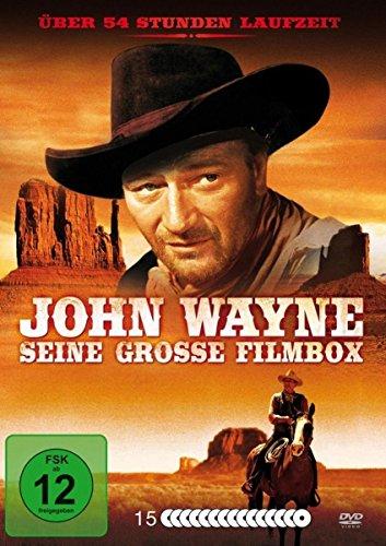 John Wayne - Seine große Filmbox - 49 Filme [15 DVDs]