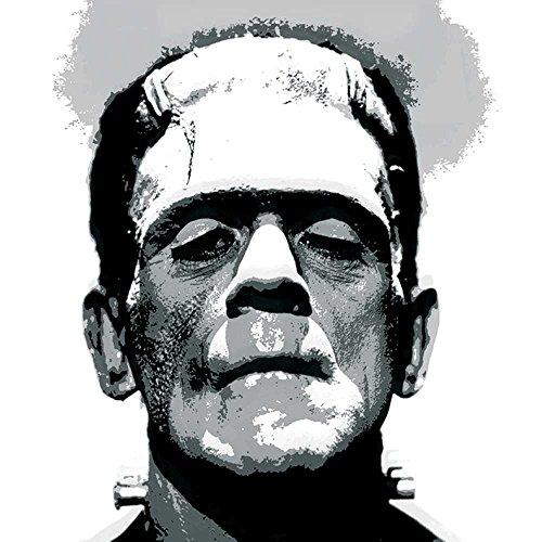 Paperproducts Design Design Frankenstein Getränke Servietten, 12,7x 12,7cm grau (Halloween Cellophan)