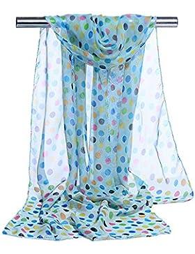 S.Self-My Emulación De Satén De Seda Toalla De Playa Larga Sunscreen Mantón Damas 160×50 Bufandas