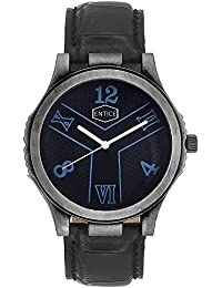 Entice Antique Collection Black Round Dial Analog Wrist Watch For Men | Gift Item