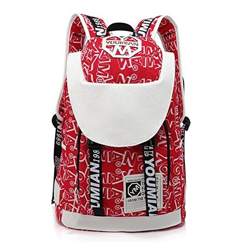 Uomo zaino sportivo / spalle femminili borsa da viaggio di piacere-2 5