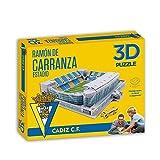 Eleven Force Puzzle Estadio 3D Ramón Carranza (Cádiz CF) (63126), Multicolor, Ninguna (1)