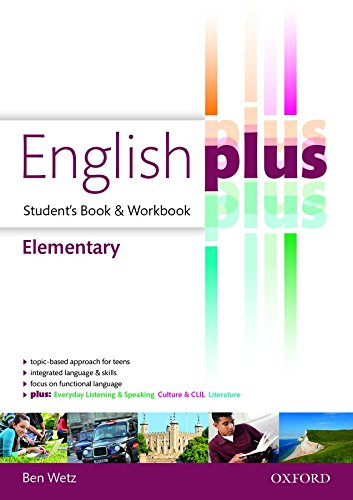 English plus elementary : premium 2.0. Student book-Workbook. Per le Scuole superiori. Con e-book. Con espansione online