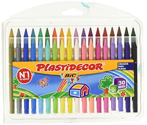BIC Kids Plastidecor - Estuche 36 unidades