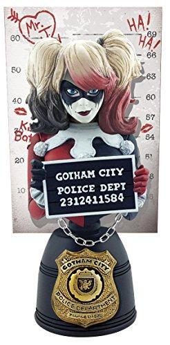 DC Comics 24403 Harley Quinn Mugshot - Estatua de Busto
