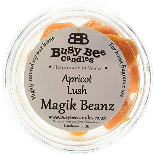 busy bee candles albicocca