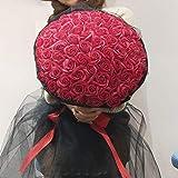 SED Künstliche Blumen - 99 Rosen, Chinesisches, Kreative Seife, Rose, Praktische Geschenke,...