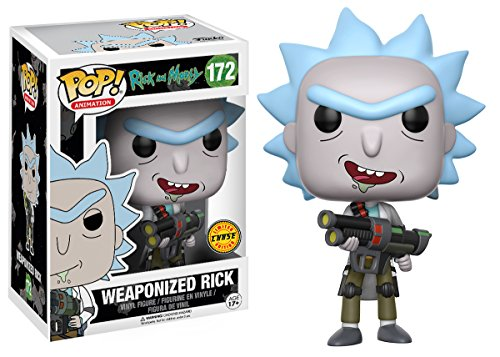 funko pop rick and morty Rick and Morty Weaponized Rick Pop! Vinyl Figure CHASE (Chase Version)