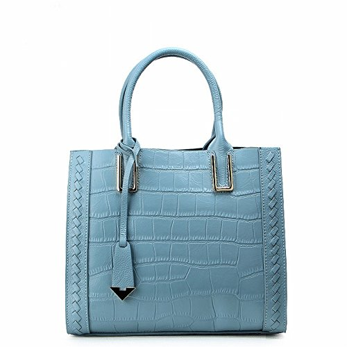 Fashion Handbags Crocodile Pattern Leather Shoulder Diagonal Handbag Handbag Factory , Yamaha