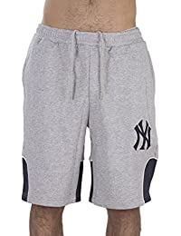 Majestic Bermudas Mlb New York Yankees Otabe Fleece gris/azul talla: M (Medium)
