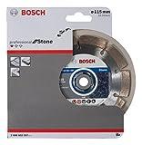 Bosch Pro Diamanttrennscheibe Standard for Stone Stein für Winkelschleifer (Ø 115 mm)
