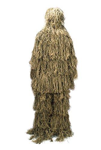 Joryn Tarnanzug 3D Ghillie Suit Softair Jagd Scharfschützen Anzug (Jagd-ghillie-anzüge)