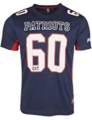 Majestic NFL NEW ENGLAND PATRIOTS Moro Mesh Jersey T-Shirt