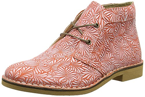 FLY London Damen Czar933fly Desert Boots Rot (redoffwhite)