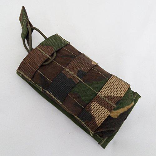 britishtactical Milspec MOLLE Single M4oben offen/Tasche mit Malice Clips, DPM